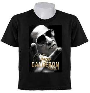 TEGO CALDERON Reggaeton Hip Hop Salsa TOUR 2012 T SHIRTS Puerto Rico