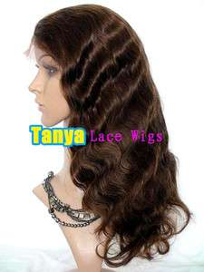 16 100% Indian Remi Human Hair Lace wigs   Front / FULL Lace Wig Body