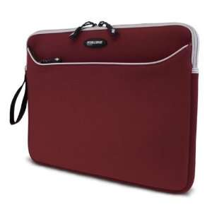 SlipSuit Small Red Neoprene Laptop Sleeve by Mobile Edge