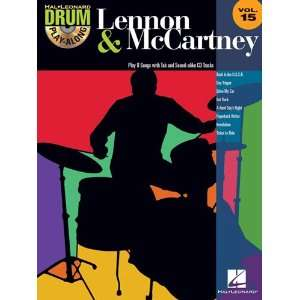 Lennon & McCartney   Drum Play Along Volume 15   Book and