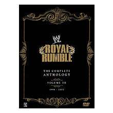 WWE   Royal Rumble Complete Anthology III (5 DVD Set)   World