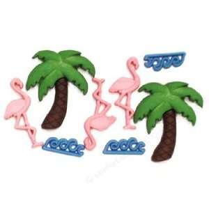 Palm Tree/Flamingo: Home & Kitchen