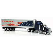 Fast Lane 143 Scale Might Haulers   Kenworth Tractor Trailer   Blue