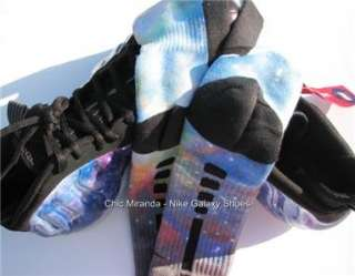AIR FOAMPOSITE GALAXY ONE NRG   12   LEBRON ALL STARS ~SHOES & SOCKS