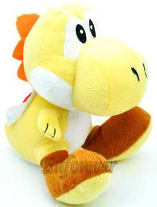 Super Mario Bros Yellow YOSHI Plush Toy Doll^MT110