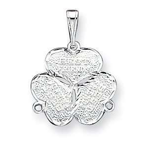 Sterling Silver 3 Piece Best Friends Charm Jewelry
