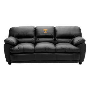 Tennessee UT Vols Volunteers High Quality Leather Couch/Sofa: