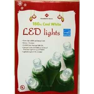 180 Count LED Cool White Christmas Holiday Lights   Saves