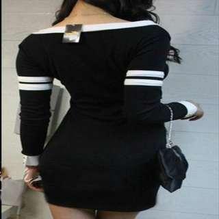 USD N74 Sexy Women V neck Long Sleeve Clubwear Party Cocktail Slim