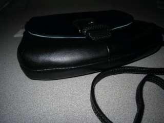COACH SOHO BLACK LEATHER FLAP SWINGPACK CROSSBODY BAG 45664 NWT FREE