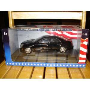 118 Scale 2004 Cadillac CTS V Series   Black Everything