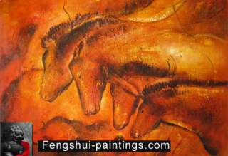 Horse Painting Modern Abstract Oil Paintings Canvas Art