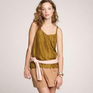 Radiette cami   sleeveless   Womens shirts & tops   J.Crew