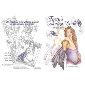 Marjolein Gulinskis Fantasy Fairy Coloring Book