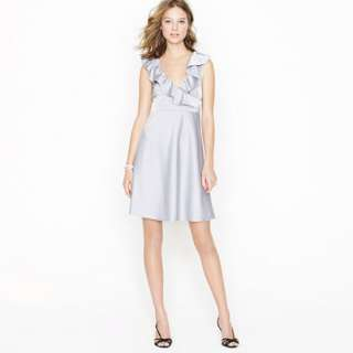 Petite Rosalind dress in tricotine   dresses   Womens petite   J.Crew