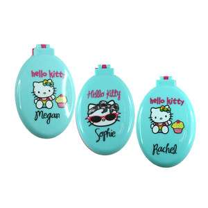 Hello Kitty Personalised Names Hair Brush   Initial M S