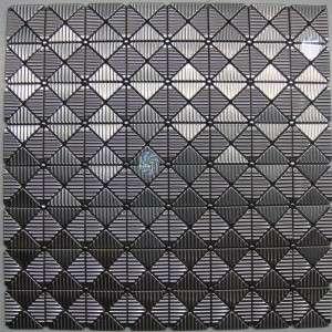 Neelnox Stainless Steel Metal Tile Mosaic Kitchen Z 15