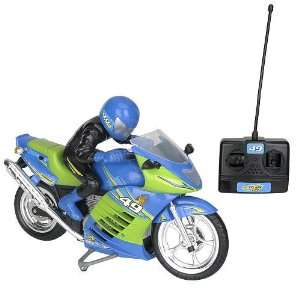Fast Lane Turbo Rider Radio control Motorcycle   49 Mhz