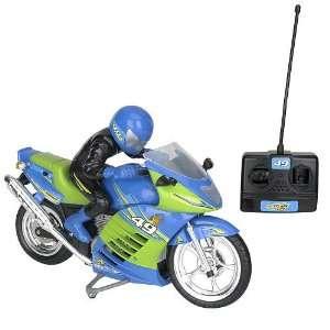 Fast Lane Turbo Rider Radio control Motorcycle   49 Mhz