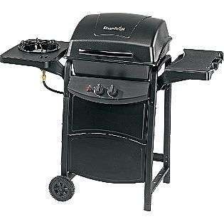 Burner Gas Grill with Side Burner  Char Broil Outdoor Living Grills