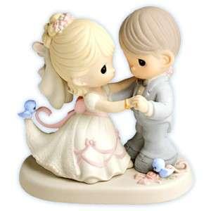 Precious Moments Figurine Wedding Day 630026 YOU ARE MY DREAM COME