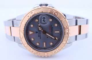 Ladies ROLEX 18K Yellow Gold & Stainless Steel Yachtmaster Watch