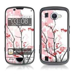 Pink Tranquility Design Skin Decal Sticker for the Samsung