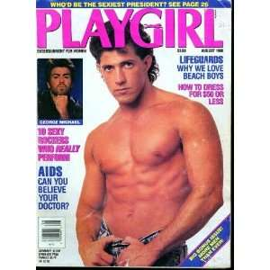 Playgirl Magazine, issue dated August 1988 Lifeguards  why we love