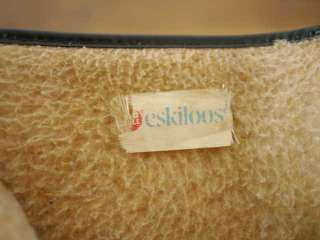BALL ESKILOOS Fleece Lined RUBBER Zip Up Rain Snow BOOTS 8 38.5