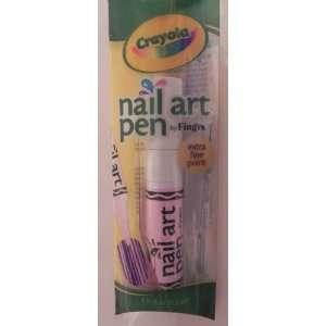 Crayola Nail Art Pen   Light Pink  Toys & Games