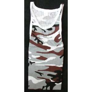 Camouflage Tank Top   Mens Size XL 46   48 Toys & Games