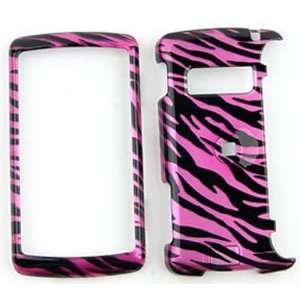 LG ENV 3 / ENV3 vx9200 Transparent Design, Hot Pink Zebra