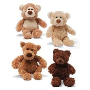GUND Set of 4 Small Teddy Bears   7 Plush Stuffed Animals