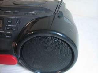 W15) Sony ESP Sports Water Resistant AM FM Radio Cassette CD Player