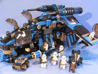 LEGO® brick STAR WARS custom IMPERIAL BLACK REPUBLIC GUNSHIP + 9