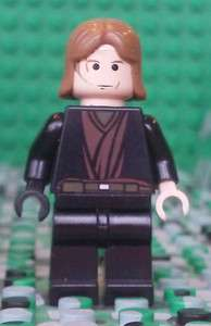 Lego Star Wars Anakin Skywalker Minifigure Minifig Wounded Burned 7256