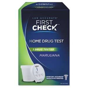 First Check Marijuana Drug Test Kit KIT,DRUG, MARIJUANA