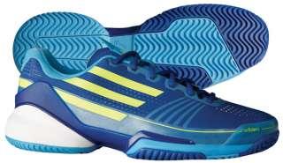 Adidas Adizero Feather Mens Tennis Shoe Royal/Yellow