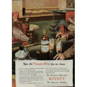 How the Rumpus Room got its name  1945 Kinsey Blended Whiskey