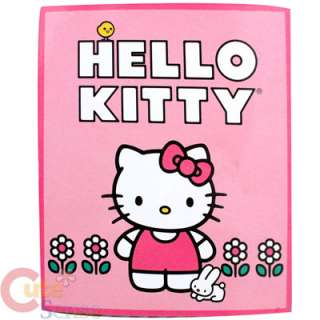 Sanrio Hello Kitty Microfiber Plush Throw Blanket Pink 688955668379