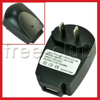 1A USB Universal Power Adapter Main Charger(US/JP Plug)