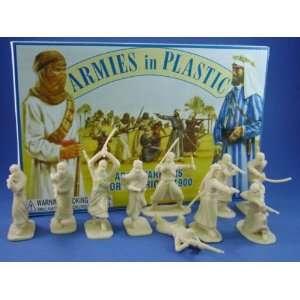 Armies in Plastic 54mm Arab Warriors circa 1900 20 Figures