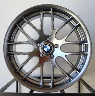 19 Inch Stagger Hyper Black BMW CSL Style Rims
