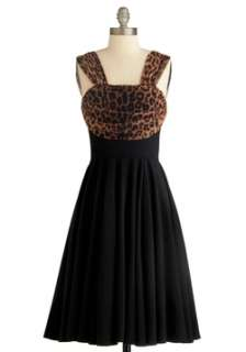 Brown Black Dress  Modcloth