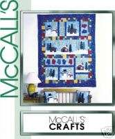 McCALLS 2443 OOP WINTER SCENE QUILT Pattern