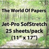 Jet Pro SS Inkjet Transfer Paper for light Fabrics, Heat, Press, Iron
