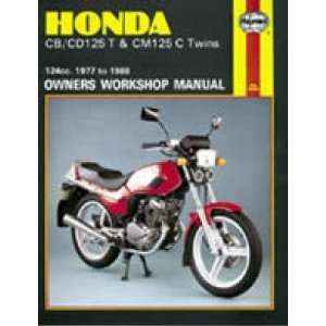 Haynes Manual   Honda CB CD 125T CM125C Twins 77 88