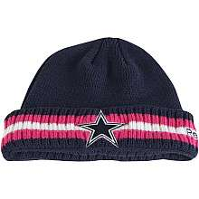 Reebok Dallas Cowboys Breast Cancer Awareness Sideline Coaches Cuffed