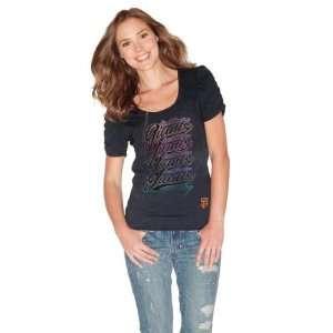 San Francisco Giants Womens Puff T Shirt  Sports