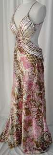 Sexy Gorgeous Gown Dress Party Evening Multi Colored XL